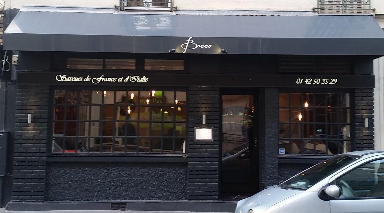 Restaurant Italien  Rue Mademoiselle