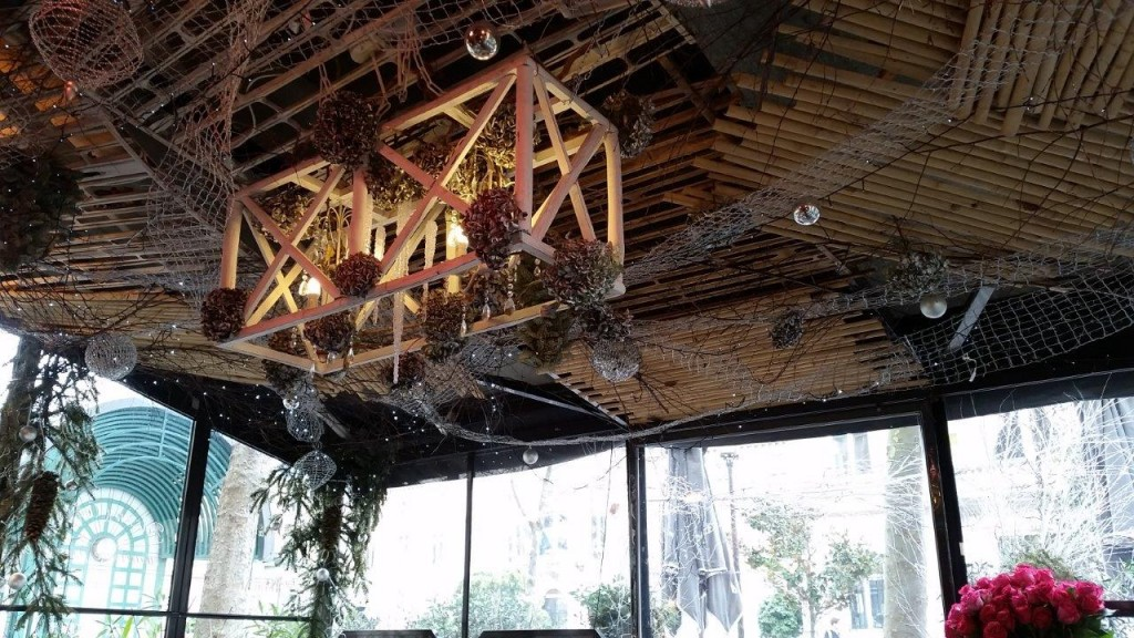 Intérieur du restaurant Le Cap