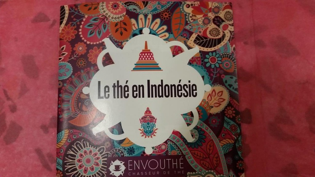 Livret sur thé en Indonésie