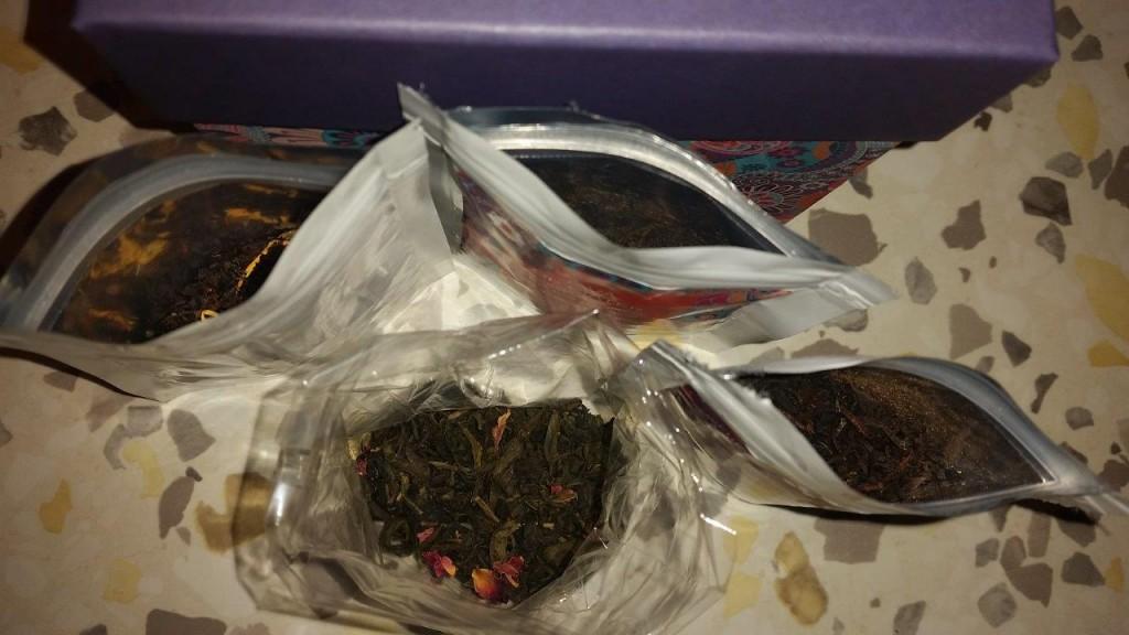 Une grande diversité de thés