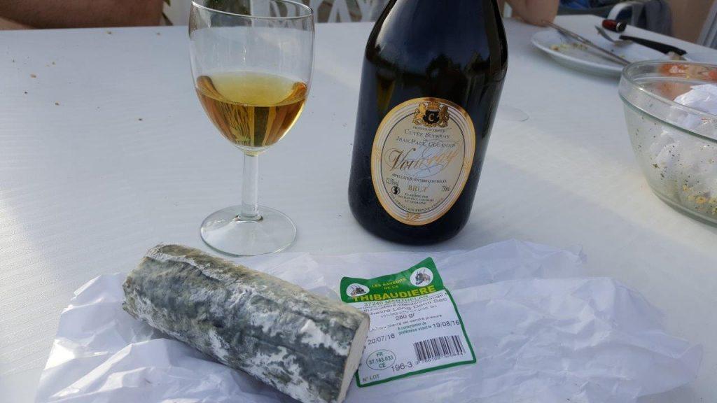 Le fromage de chèvre et le Vouvray