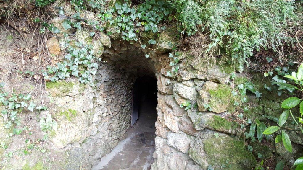 grottes pétrifiantes savonnières de Villandry