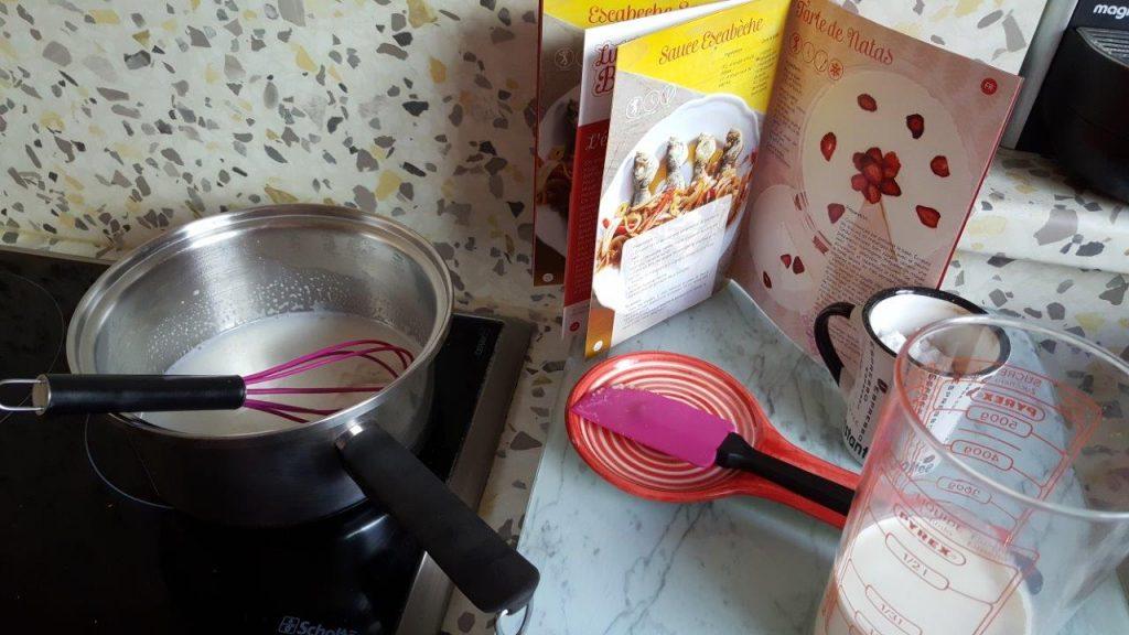 Recette de Tarte de natas