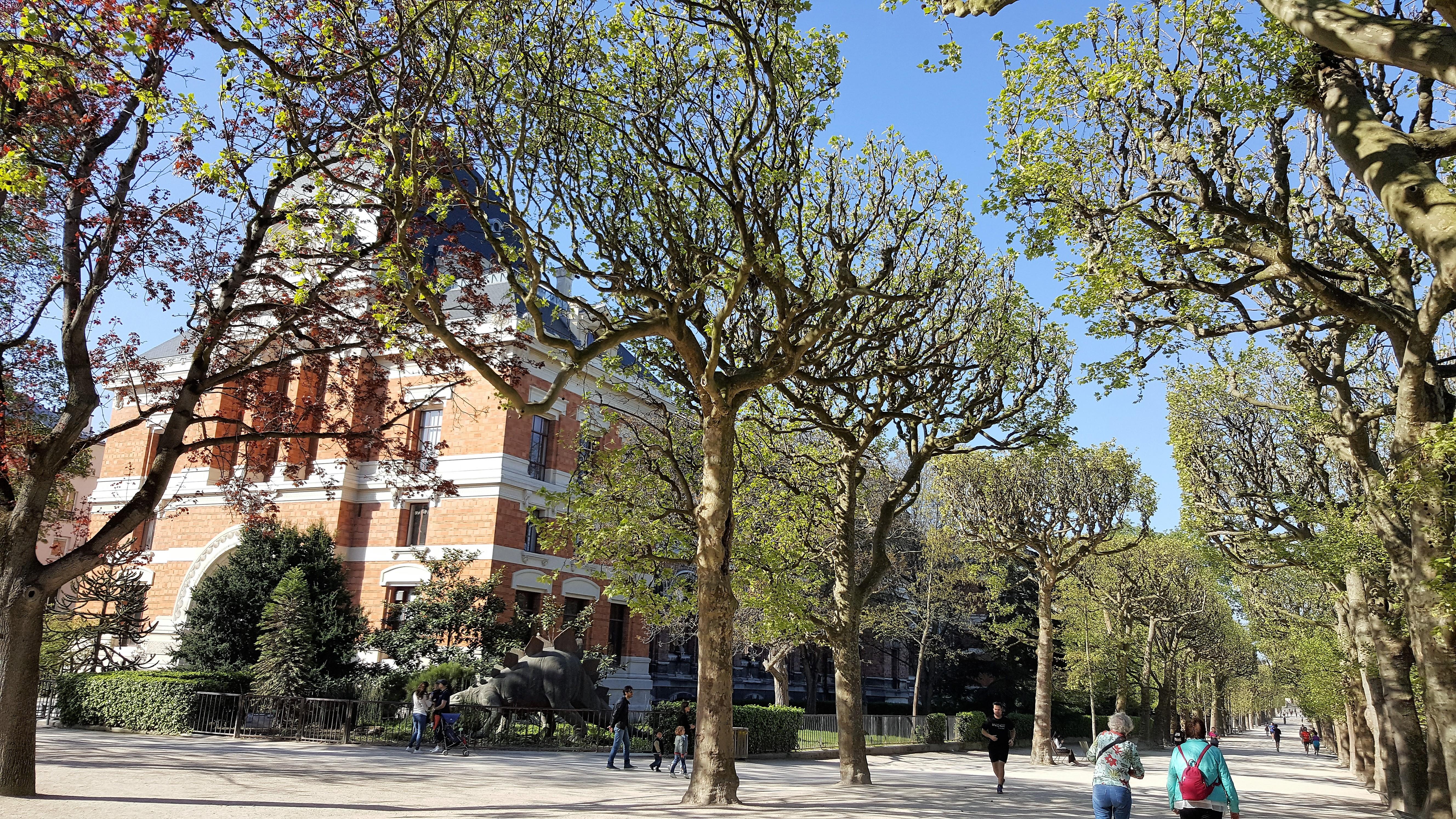 Une city rando pour l 39 arriv e du printemps un for Le jardin tino rossi