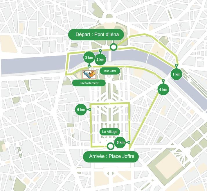 Parcours La Parisienne