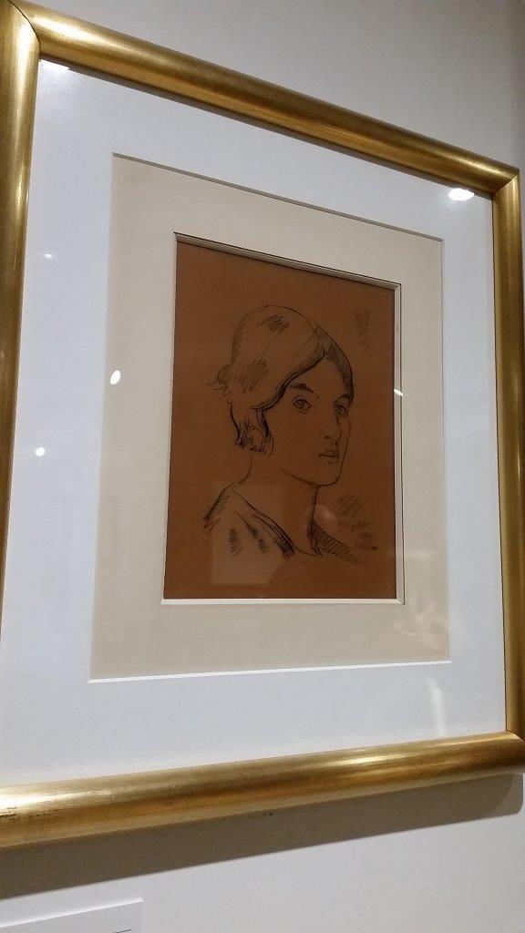 Autoportrait de Suzanne Valadon