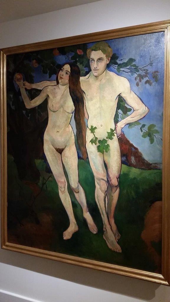 """""""Adam et Eve"""" de Suzanne Valadon"""