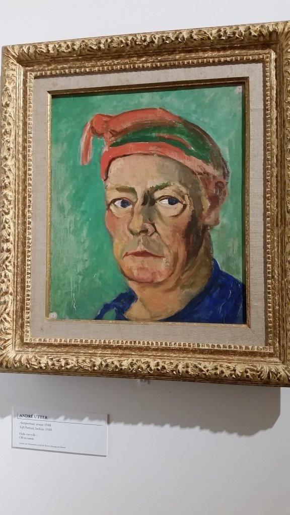 Autoportrait d'André Utter