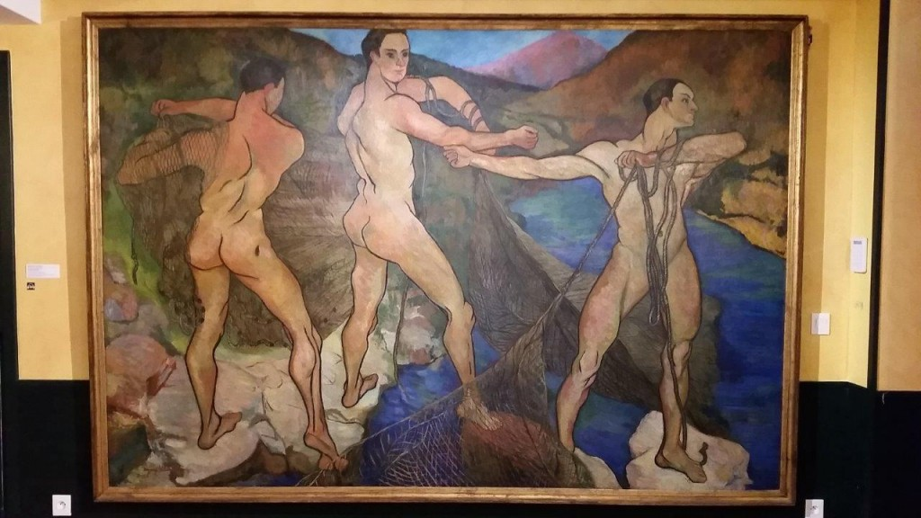 """Le lancement du filet"" de Suzanne Valadon"