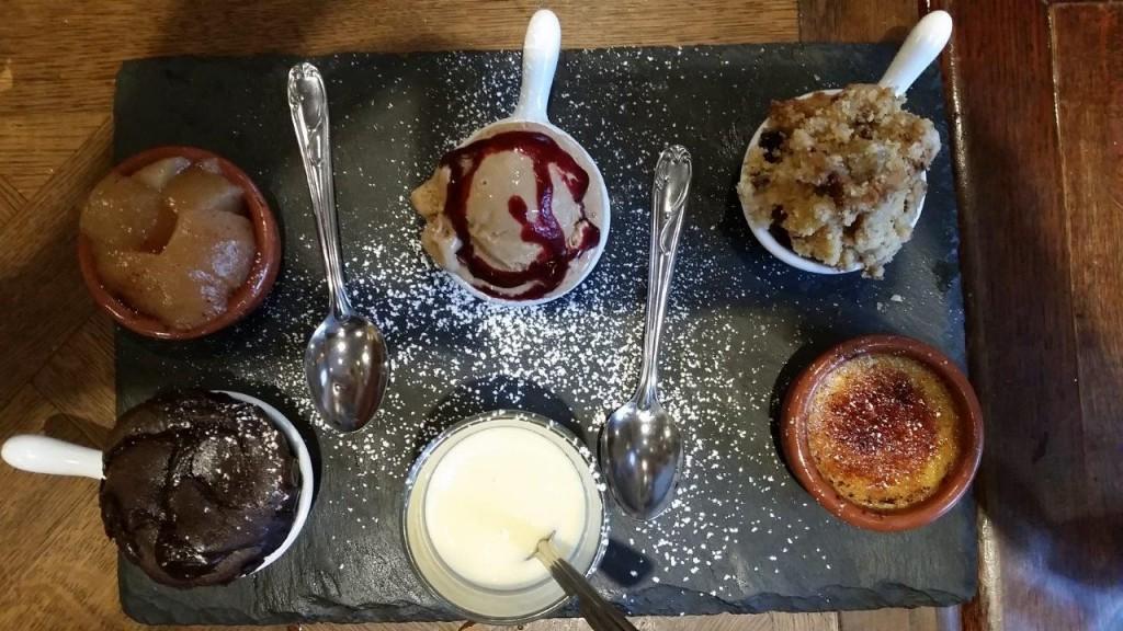 La grande assiette de desserts du Restaurant