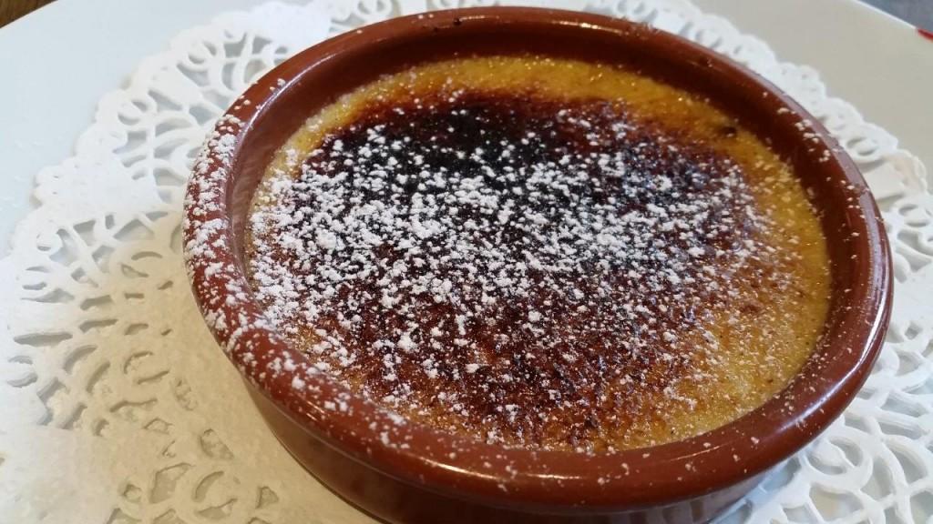 Crème brûlée aux sucres épicés