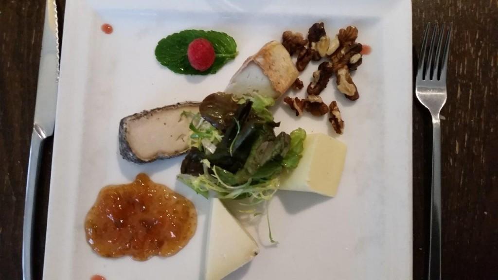 Trio de fromage corse et leur confiture traditionnelle