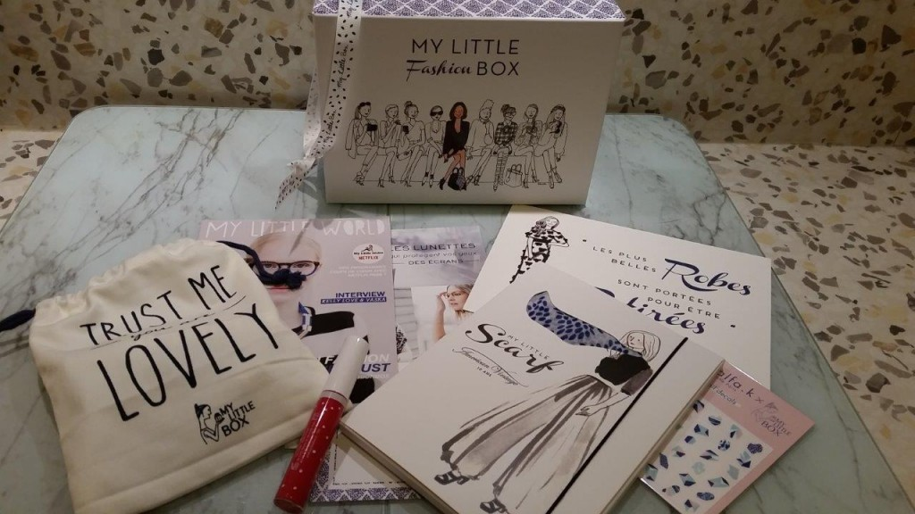 Contenu de My little Fashion box