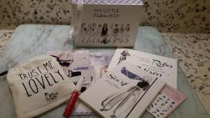 Contenu de My little Fashion box
