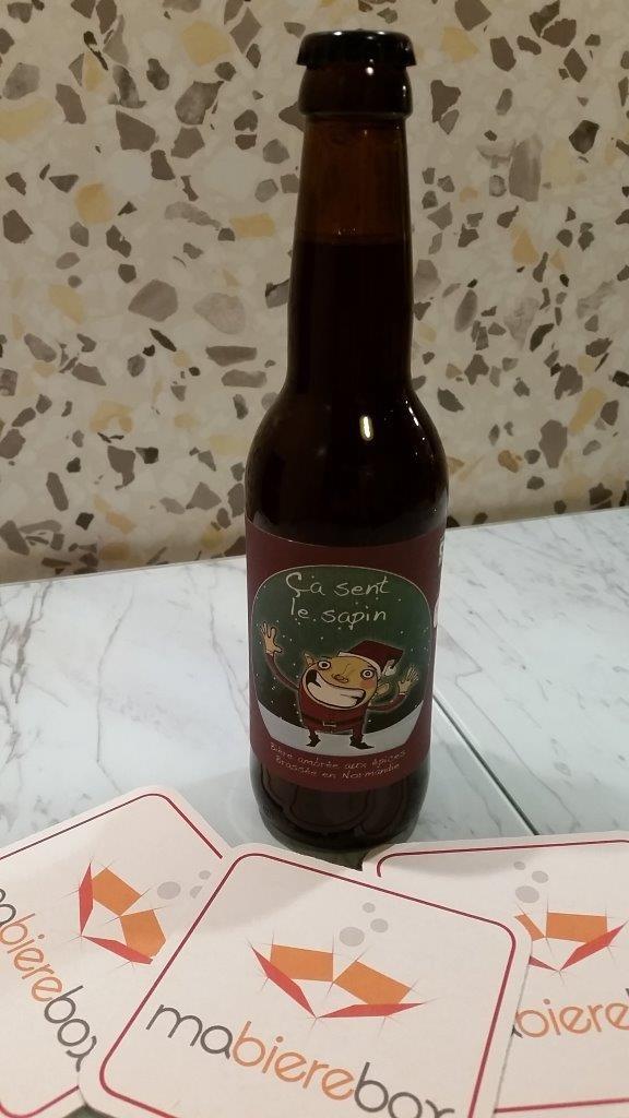 Ça sent le sapin, Brasserie La Lie, Noël, 8°