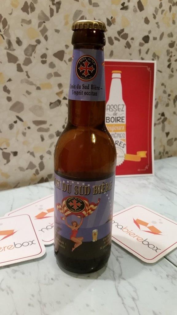 La Croix du Sud, Brasserie Croix du Sud, blonde, 4.5°