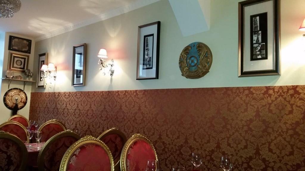 Intérieur du restaurant Chez Mademoiselle