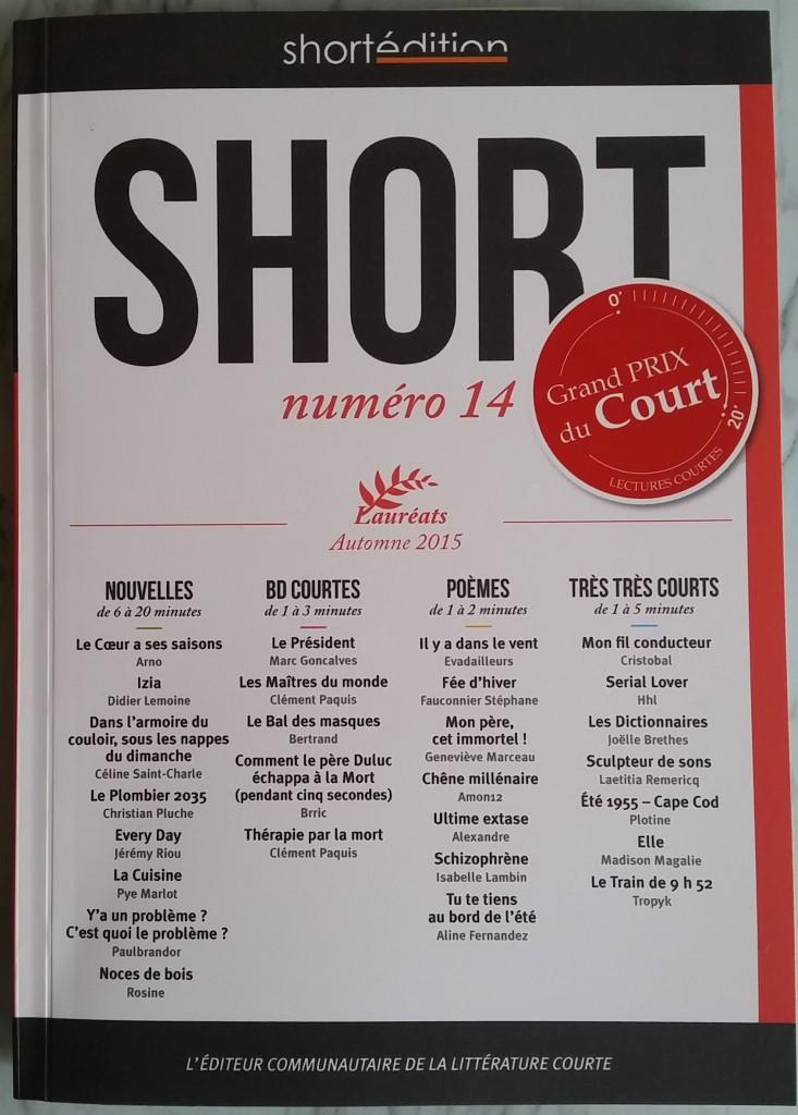 SHORT numéro 14