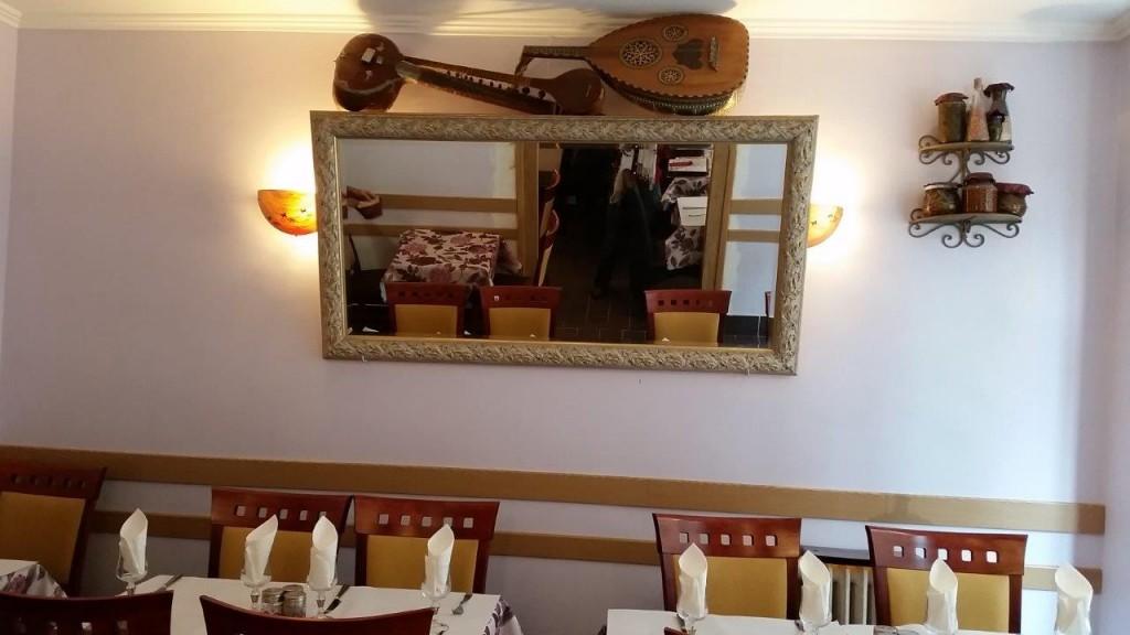 Intérieur du restaurant Perchiana