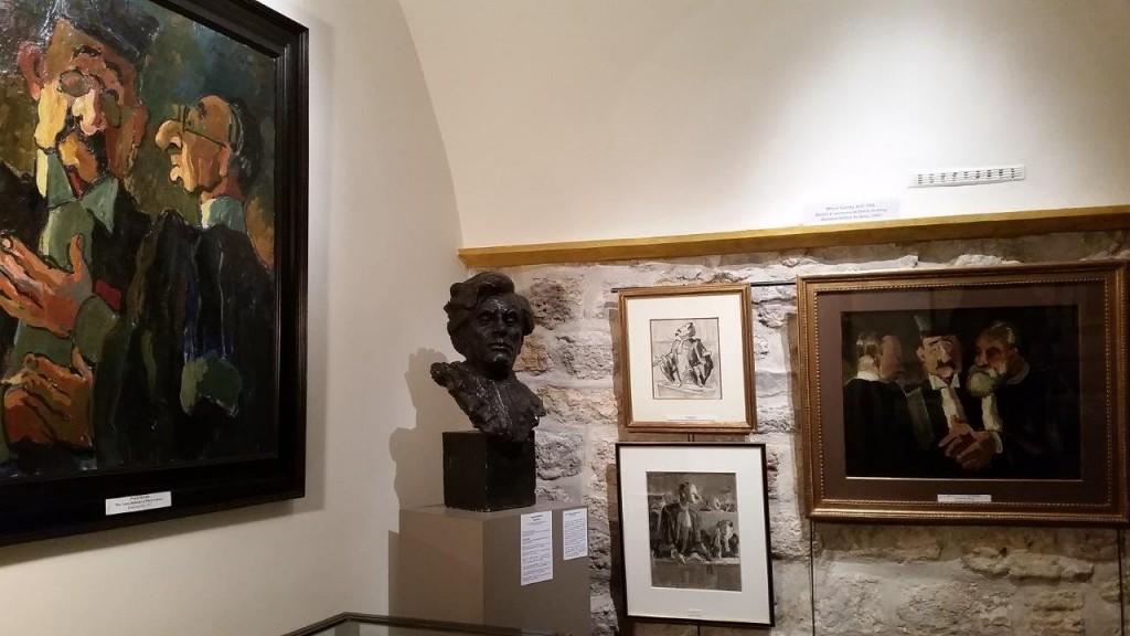 Procès de Stavisky qui été suivi par le peintre Pierre de Belay