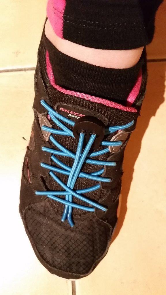 Test des lacets sports élastiques NEON