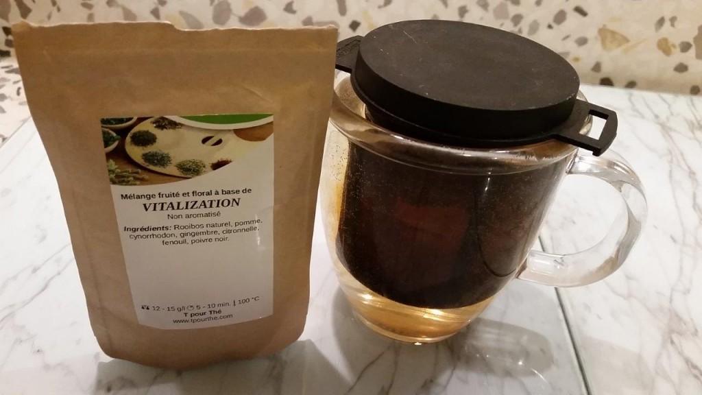Test du thé Vitalization Bio T pour Thé