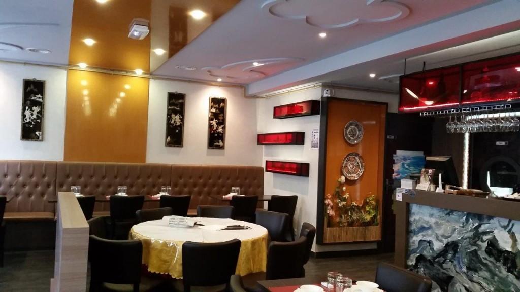 Intérieur du restaurant Saturne