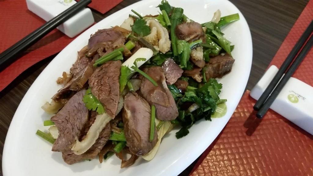 Assortiment de viande à la Sichuan