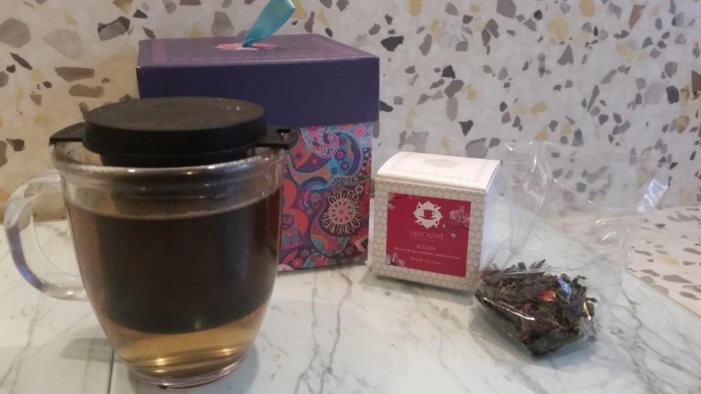 Dégustation du thé vert de Java, Bogor Envouthé