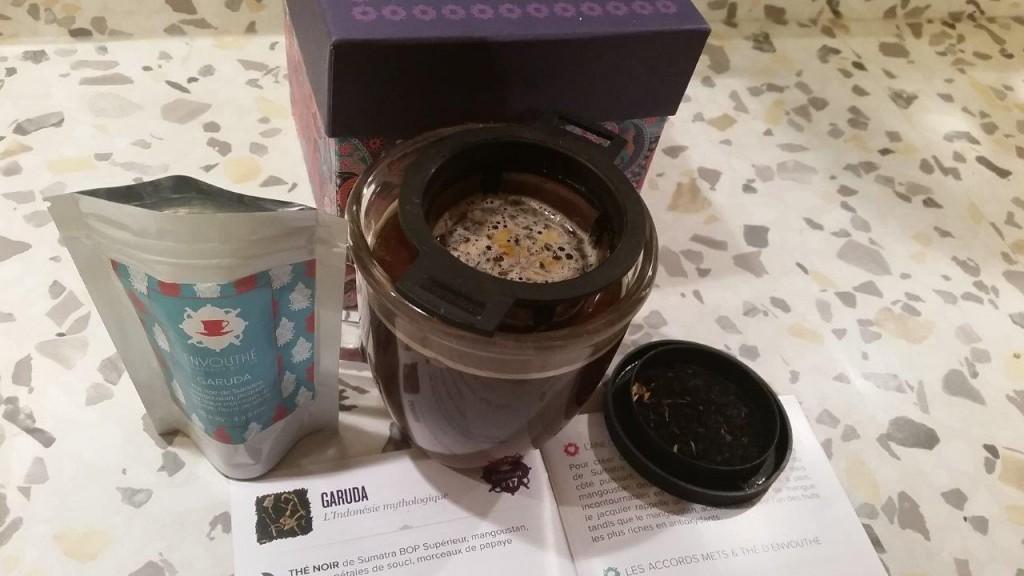 Dégustation du thé noir de Sumatra Garuda Envouthé