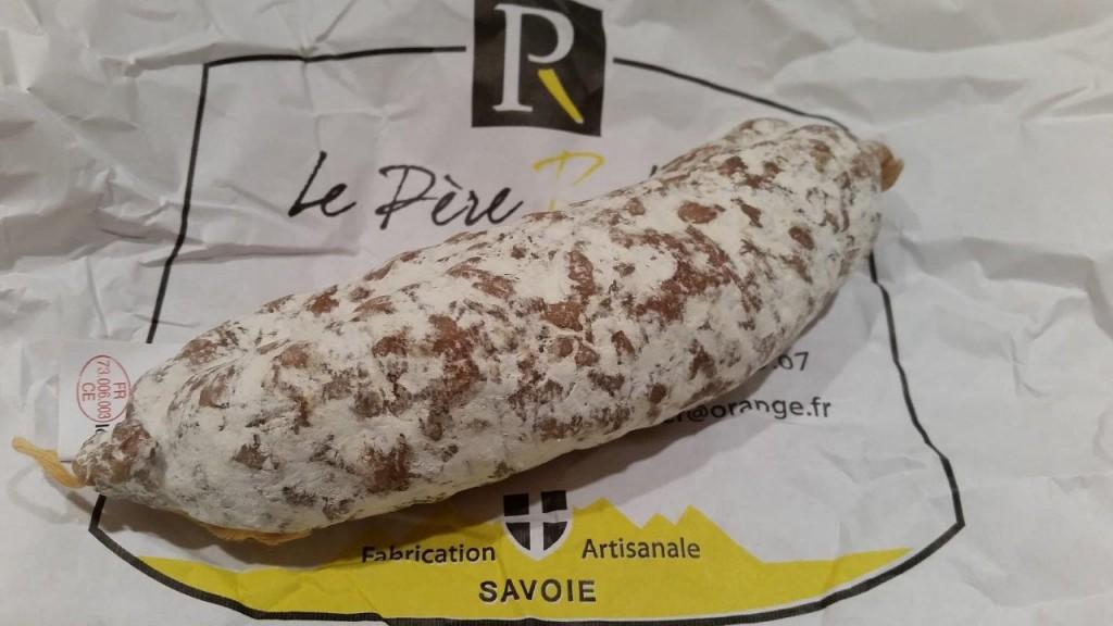 Saucisson à la tomme de Savoie