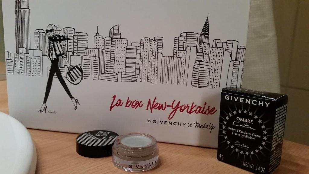 Test du fard à paupière Ombre Couture Glorious Silver