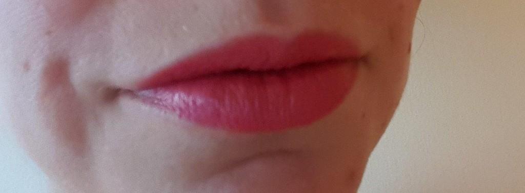 Test du rouge à lèvres