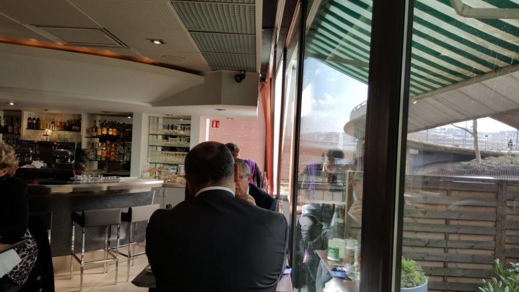 Intérieur du Novotel Café Paris la Défense