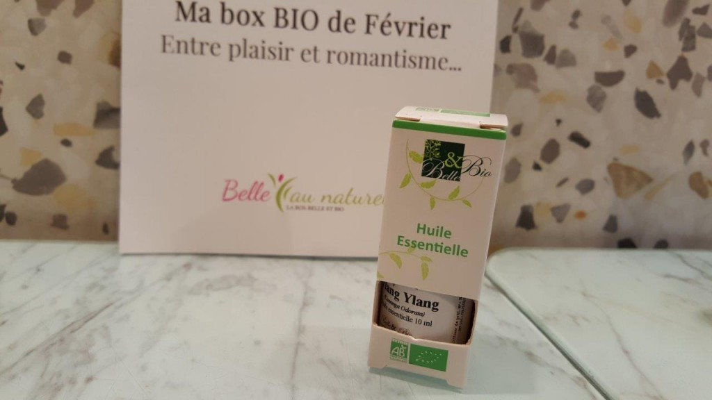 flacon d'huile Essentielle d'Ylang Ylang BIO