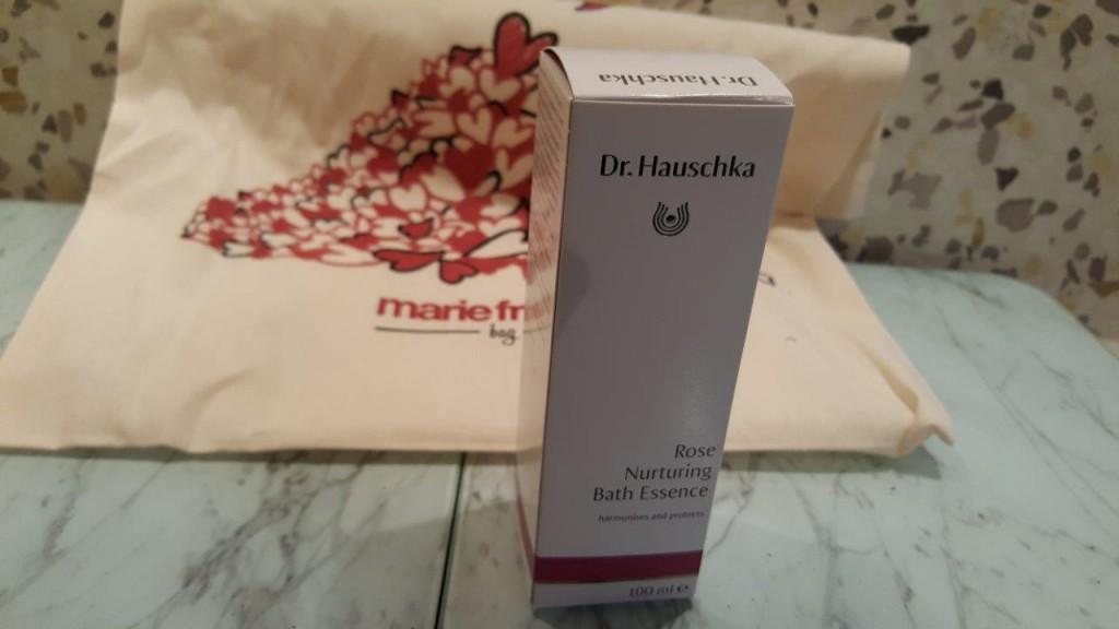 Bain rose de Dr Hauschka