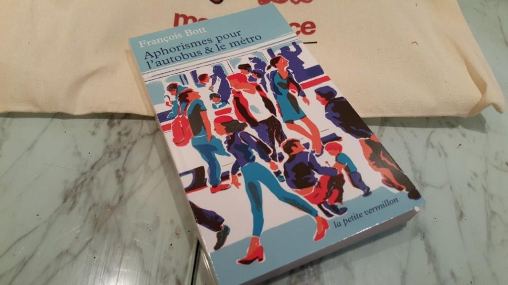 livre Aphorisme pour l'autobus et le métro