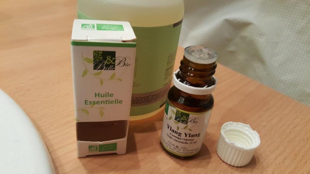 Test de l'huile Essentielle d'Ylang Ylang