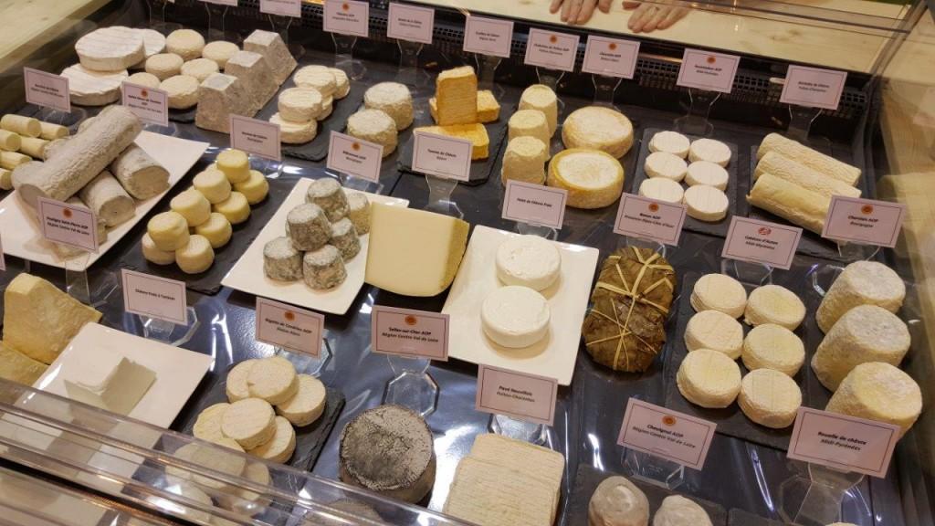 Dégustation de fromage de chèvre