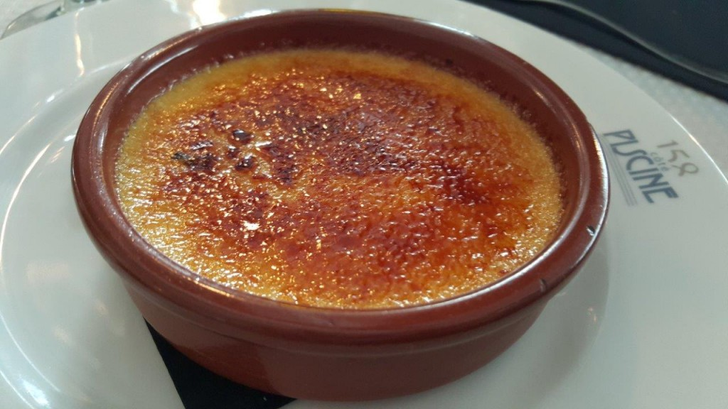 Crème brûlée à la gousse de vanille