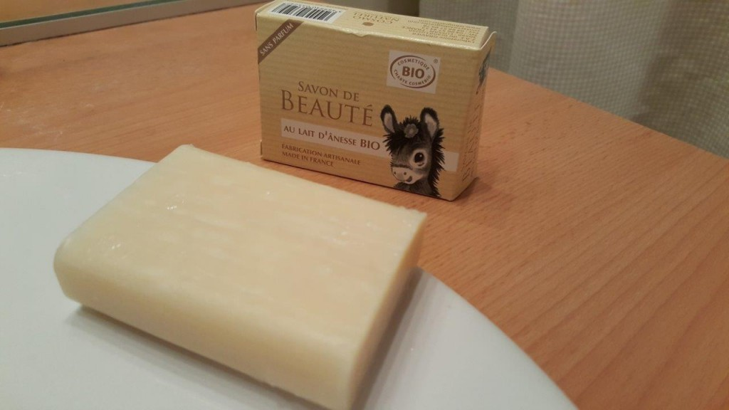 Test du savon de beauté au lait d'ânesse
