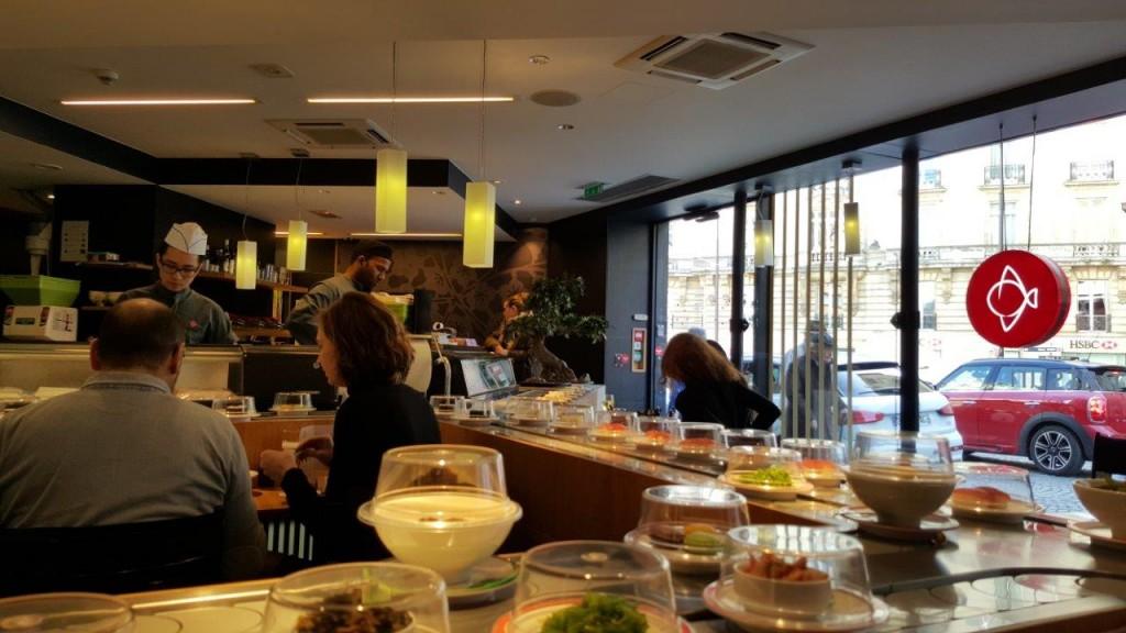 Intérieur du restaurant Matsuri