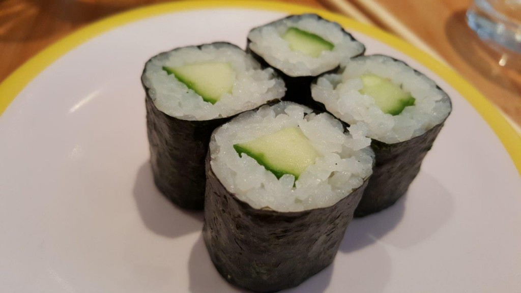 Maki au concombre