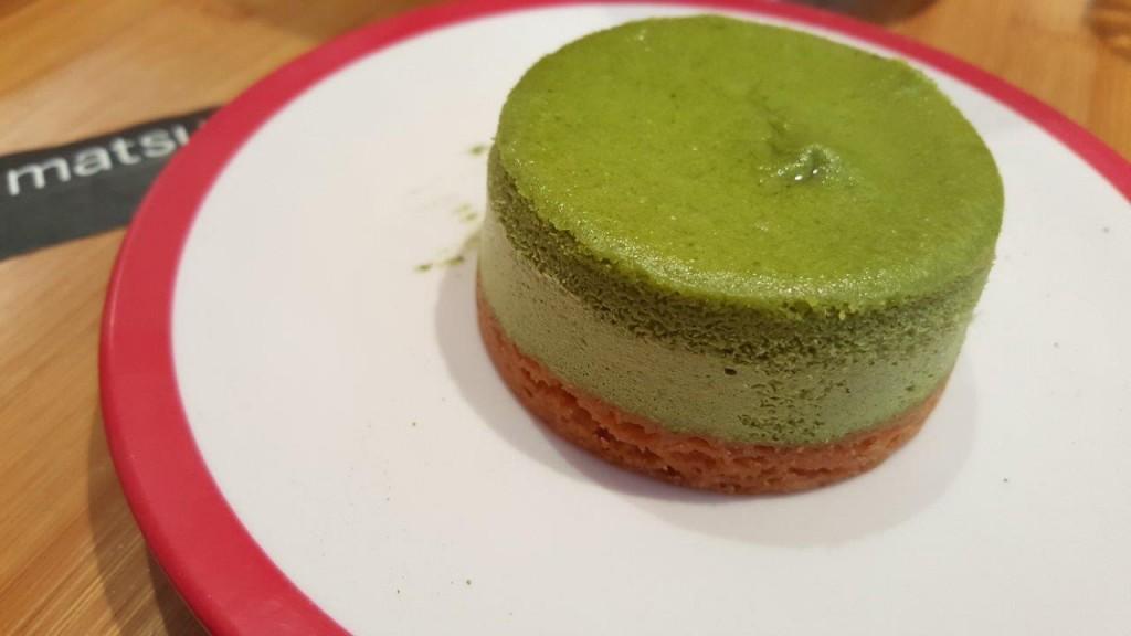 Cheesecake au thé vert