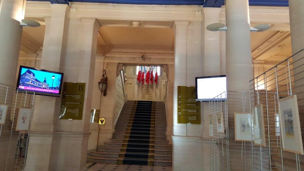 Hall de la Mairie du XIVème