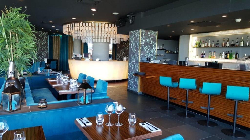Intérieur du restaurant Bermuda Onion