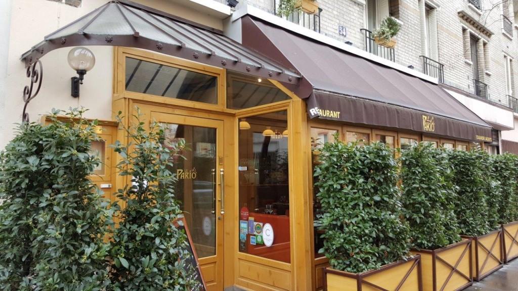 Aller – retour Paris-Rio avec le restaurant Pario