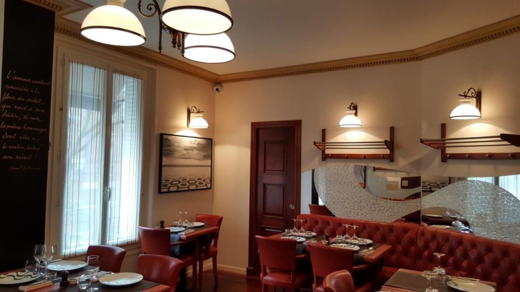 Intérieur du restaurant Le Pario