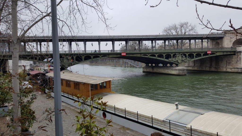 Les bords de la Seine