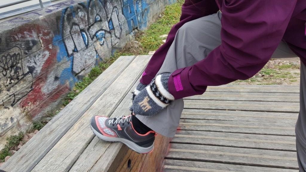 chaussures de randonnée femme Forclaz 500 Helium Rose Quechua